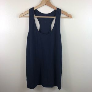 Lululemon dark navy tank top size 8